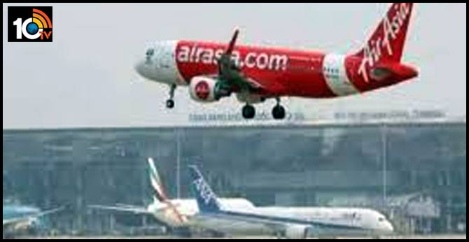 AirAsia plane with 70 passengers on-board makes emergency landing at Hyderabad airport