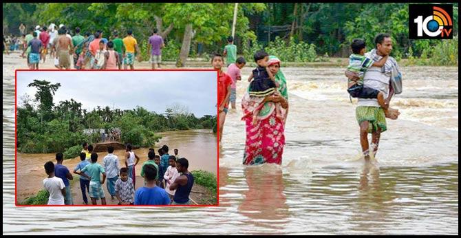 flash floods assam amid coronavirus pandemic