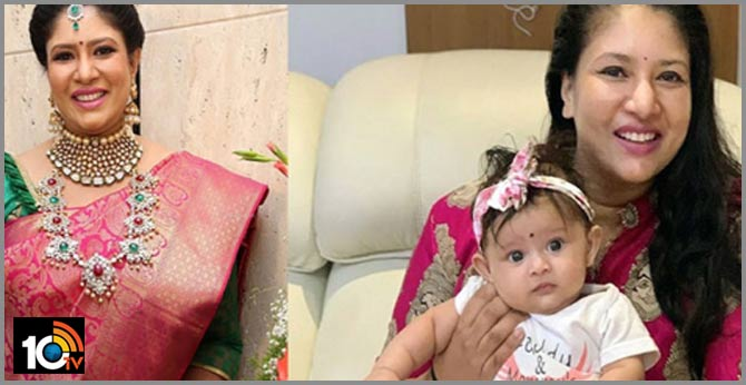 Heroin sangavi with her daughter