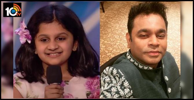 Britain's Got Talent contestant Souparnika Nair impresses AR Rahman