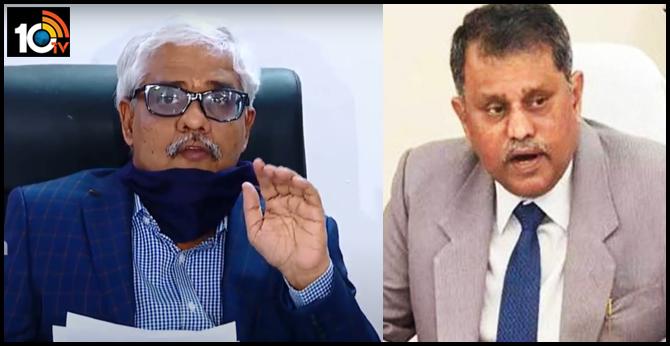 ap advocate general sreeram comments on ex SEC ramesh kumar circulars