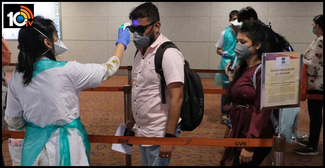 Corona virus positive to several people who came to AP from abroad