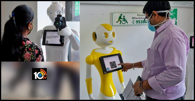 Indian Hospital Is Using Robots With Thermal Cameras To Screen Coronavirus Patients