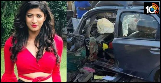 kannada tv actress mabina michael dies in road accident
