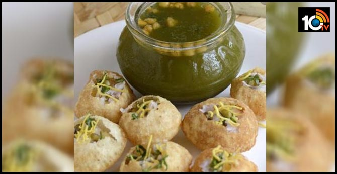 children get sick eating panipuri