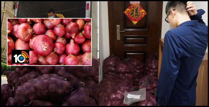 """Chinese Woman Sends Cheating Boyfiend 1,000 Kilos of Onions Because """"It's His Turn to Cry"""""""
