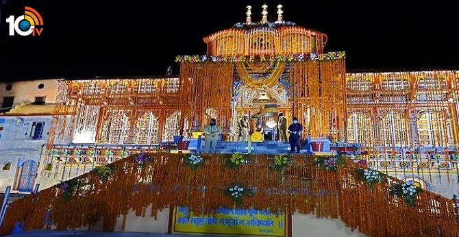 Lord Badrinath temple, one of the holiest Hindu Char Dham, opens
