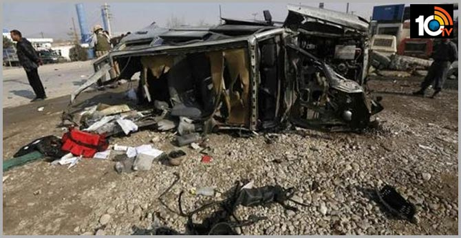 car bomb kills at least five in east afghanistan