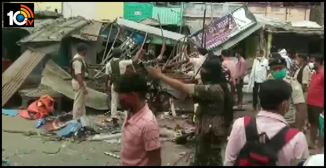 Mohter, six month old son die in a blast at house in Bihar