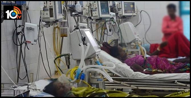 fire in hospital ventilator 5 corona patients die
