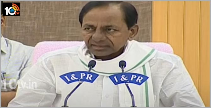 Telangana CM KCR on Potireddypadu water issue