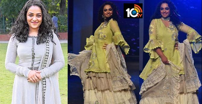 Actress Nithya menon auctioning her custom made dress funds