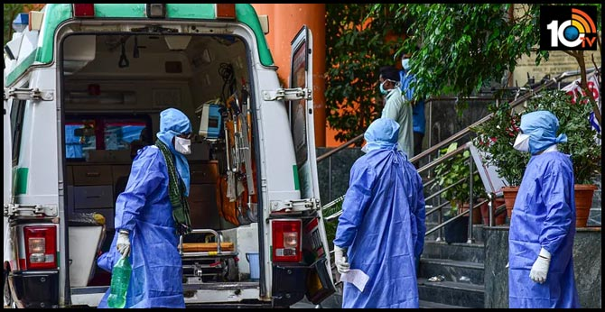 Corona virus positive for a person who came from Mumbai