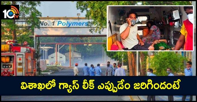 Gas Leak In Visakha .. Full Details