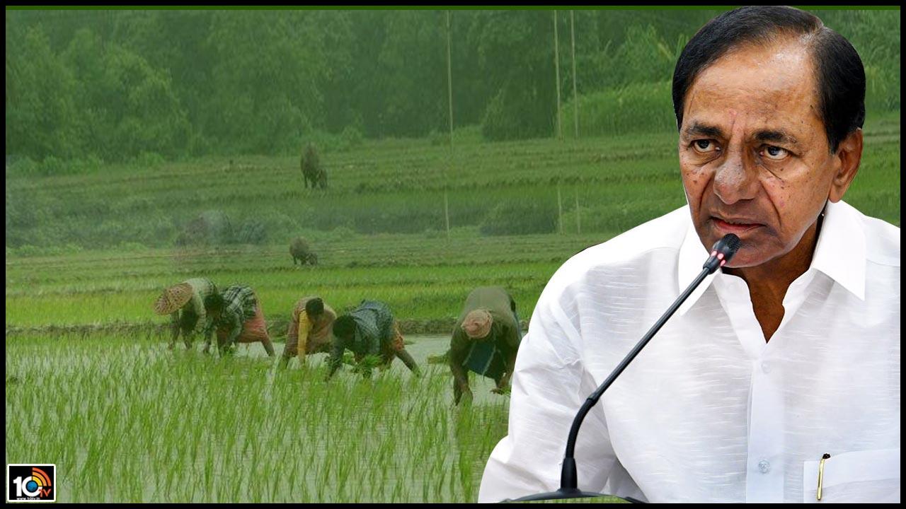 Good news for farmers soon CM KCR