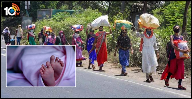 Pregnant Migrant Labourers Walking From Punjab To Bihar