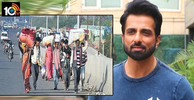 Sonu Sood arranges chartered flight to ferry Odisha migrants from Kerala