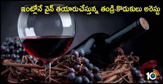 Tamil Nadu: Father-son duo among three arrested for producing wine at home in Chennai