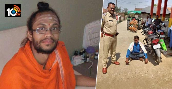 "Two sadhus murdered inside his ashramam inMaharashtra""s Nanded, one accused nabbed"