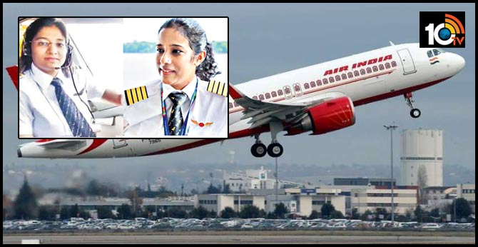 Vande Bharat Flights led by Two Women Captains
