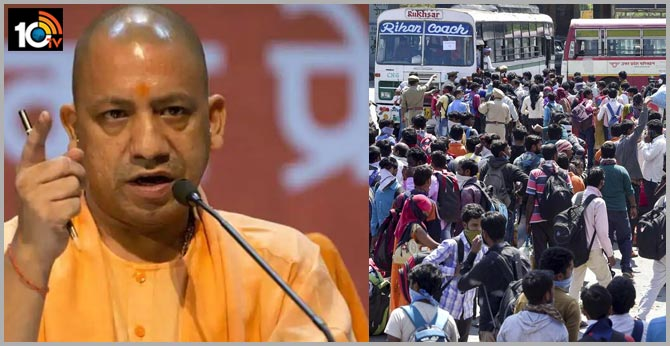 Yogi Government To Send 12,000 Buses To Bring Back Migrants From States