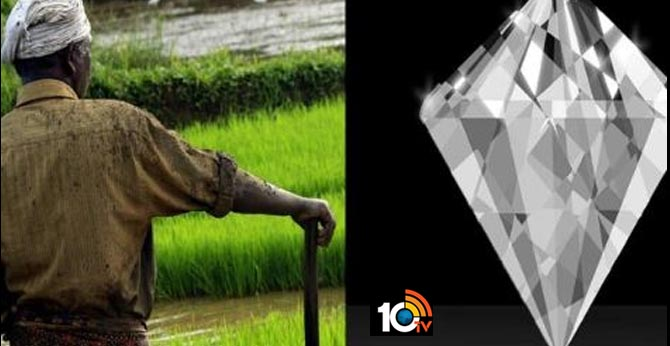 anantapur farmer found one crore valued diamond in farmland
