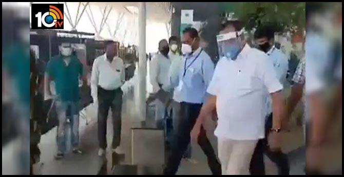 being a minister i am exempted no hotel quarantine for sadananda gowda after flight to bengaluru