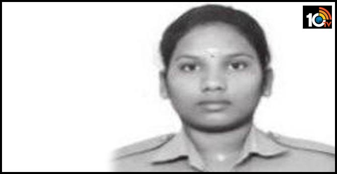 22 years old women cop suicide at chennai
