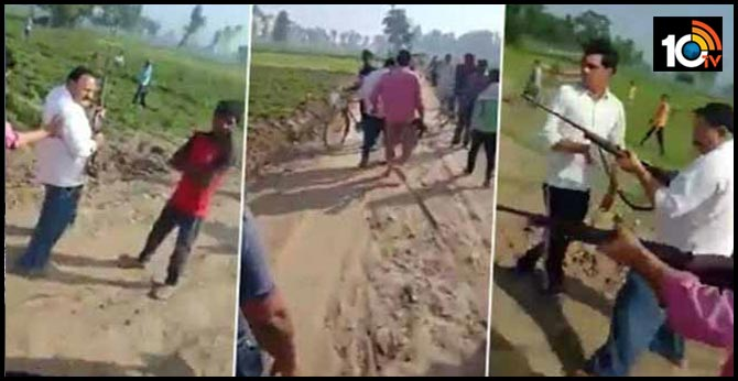 On Camera, Samajwadi Party Leader And Son Shot Dead In UP