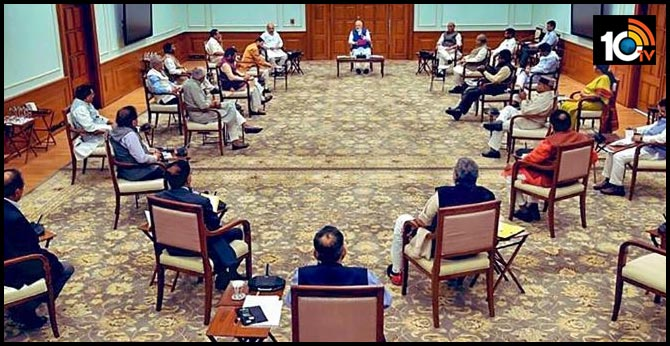 cental cabinet meeting headed by pm narendra modi will be held on wednesday