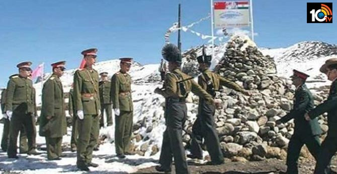 india chinese troops clash at border