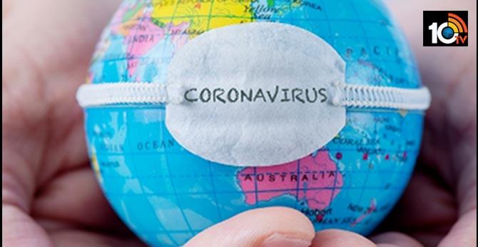 corona cases around the world