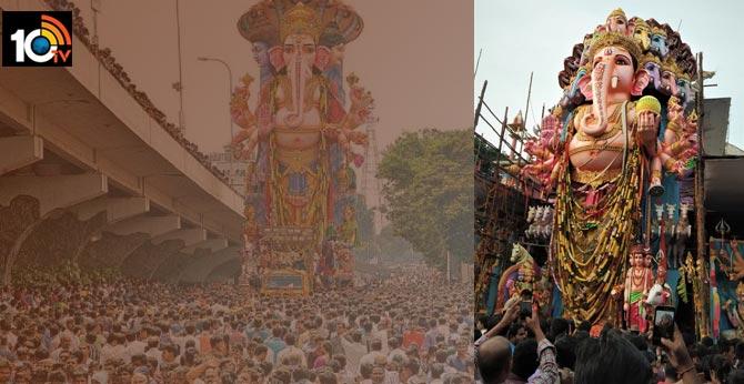 Karra Pooja for Lord Ganesha of Khairatabad