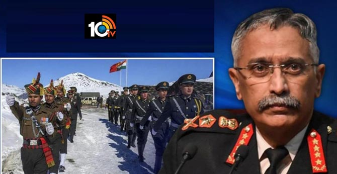 Indian Army Chief General M M Naravane Visits Ladakh Amid Tensions Between India And China Along The LAC