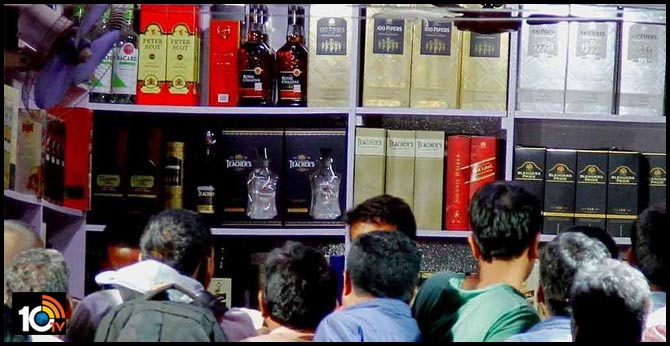 liquor shops open in telangana
