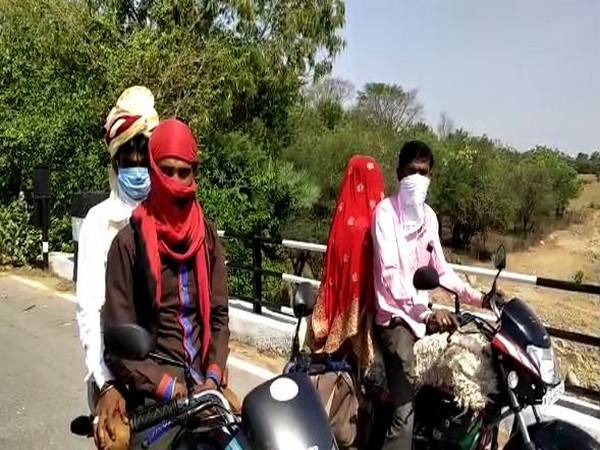Groom goes from UP to MP on motorcycle to get married in lockdown Read more At:  https://www.aninews.in/news/national/general-news/groom-goes-from-up-to-mp-on-motorcycle-to-get-married-in-lockdown