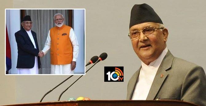 Nepal PM Blames India