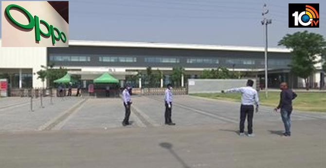 6 employees tested positive oppo mobile factory closed in greater noida