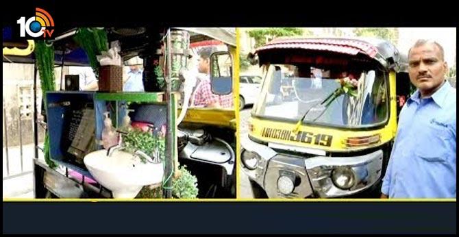 Autowaala Install Wash Basin In Auto To Avoid Corona