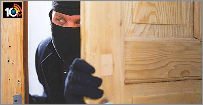 robbery in corona virus patient house