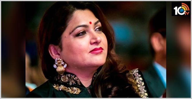 Khushbu Sundar opens up on depression, admits she wanted to end it