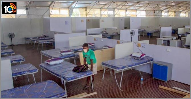 two coronavirus positive prisoners escape from covid 19 care centre In  Aurangabad