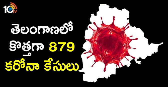 879 New corona cases registered in telangana