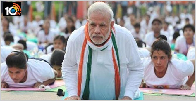 PM Modi Speech on International Day of Yoga