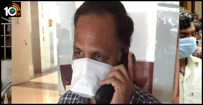 due to high grade fever and a sudden drop of my oxygen minister satyendra jain