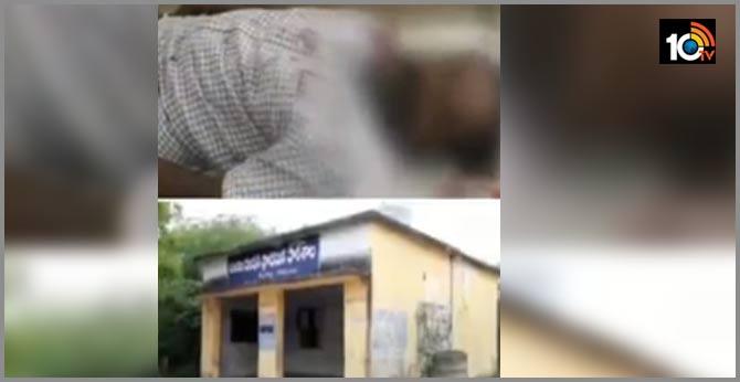 ysrcp activist murder in srikalahasti