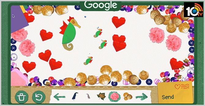 Father's Day 2020: Google Doodle lets you make a special card for your dad with hearts and flowers