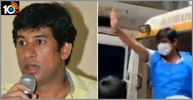 JD(S) corporator Imran arrested for grand procession after recovering from Coronavirus