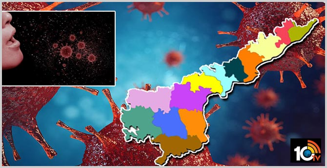 222 members get corona virus with one person in east godavari district