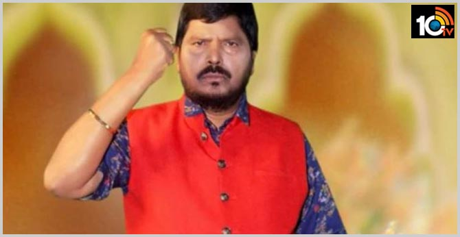 union minister Rramdas athawale Demanded ban restaurants selling chinese food in india